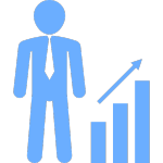 businessman-with-an-ascendant-business-graph-of-bars